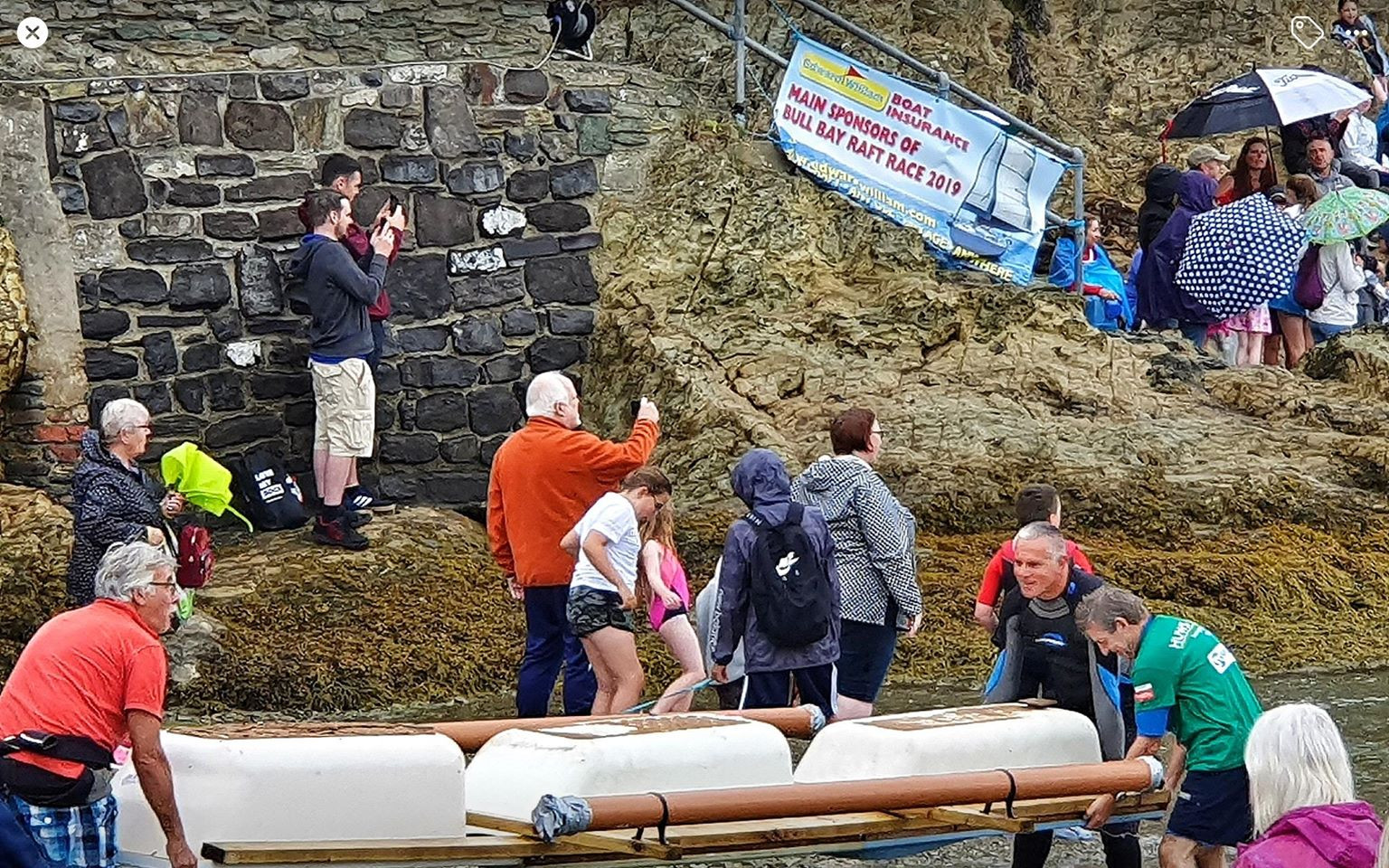 Here are a couple of photos from the Bull Bay Raft Race Image